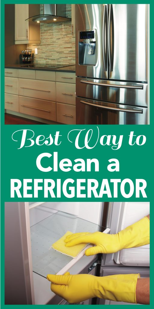 best way to clean a refrigerator