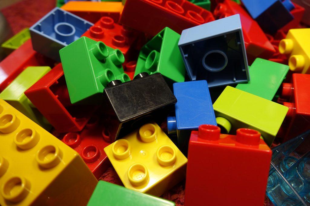organize lego