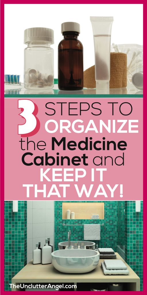 organize medicine cabinet
