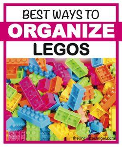 Best ways to organize legos