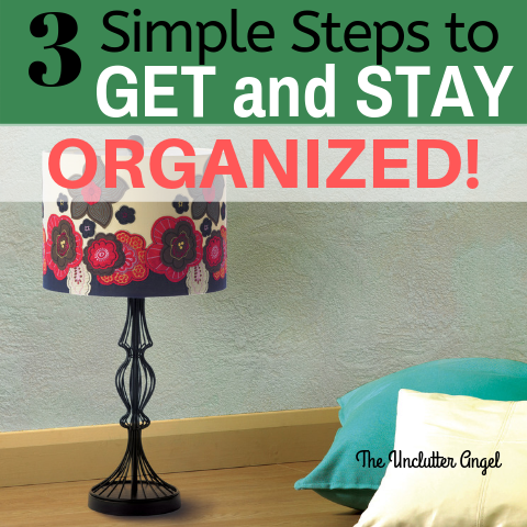 how to get organized at home ideas