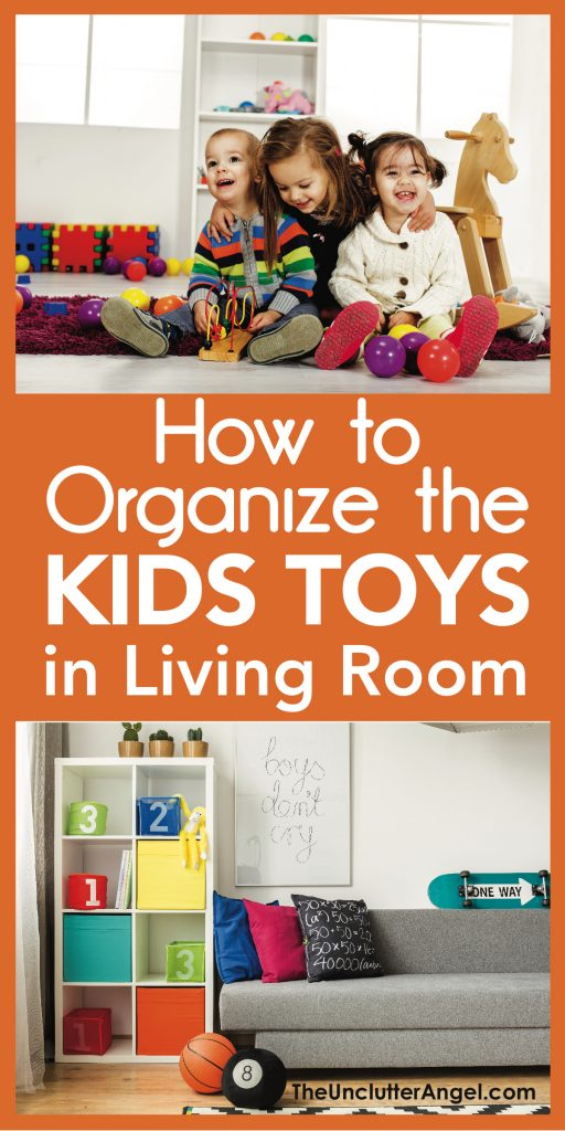 How To Organize The Kids Toys In Living Room The