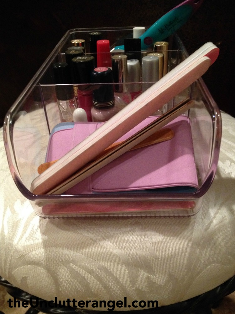 bathroom counter organization ideas
