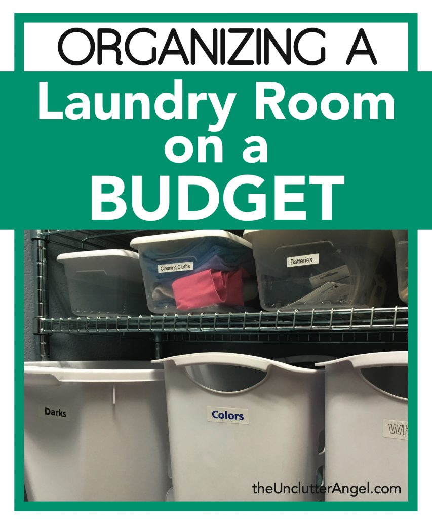 Organizing a Laundry Room on a Budget