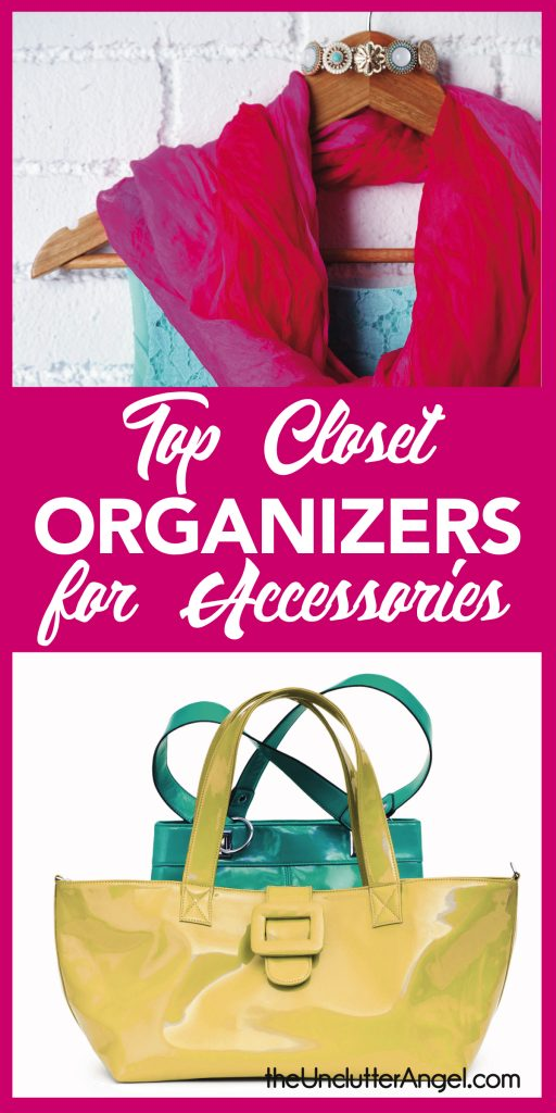 Top closet organizers for accessories