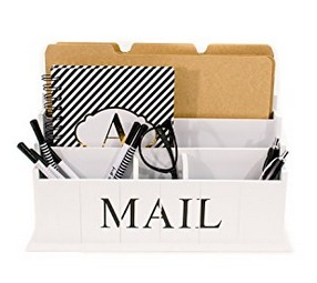 Desk Top Mail and Letter Organizer