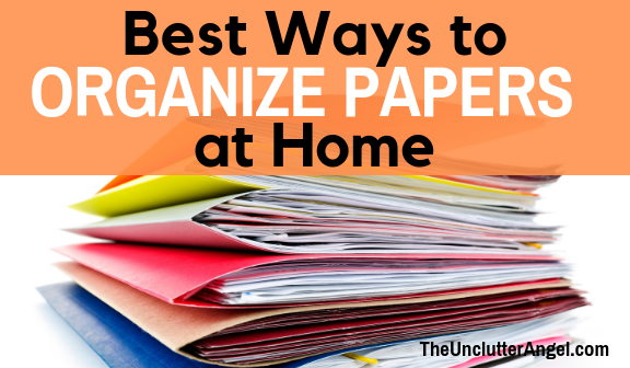 Best Ways to Organize Papers at Home