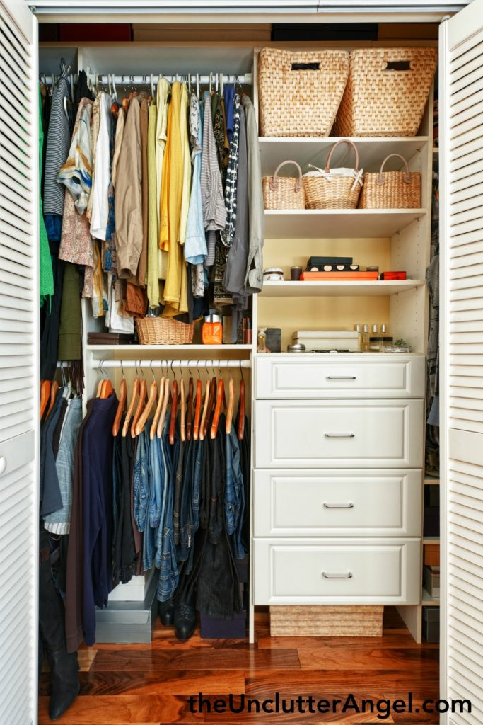 How to let go of clutter