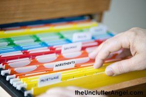 paper storage organizer