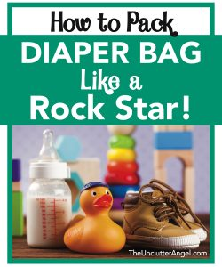 pack diaper bag