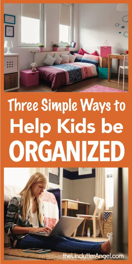 help kids be organized
