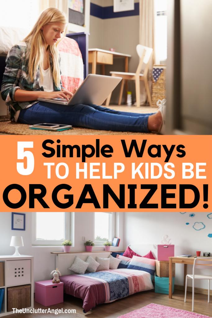 Help kids get organized