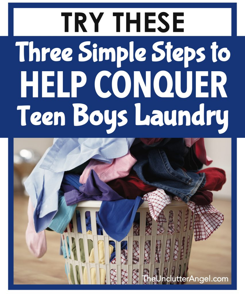 teen boys laundry