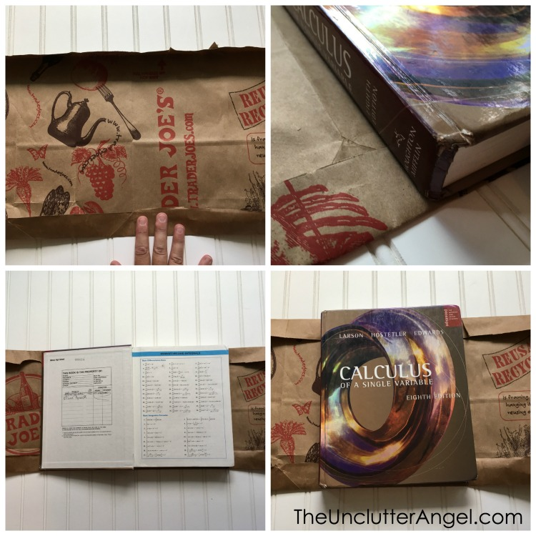 How To Make A Book Cover Without Tape ~ Creative ways to protect textbook with covers for school