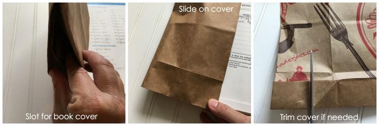 paper book cover
