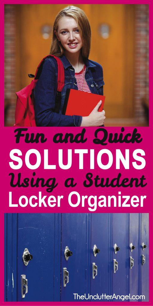 student locker organizers