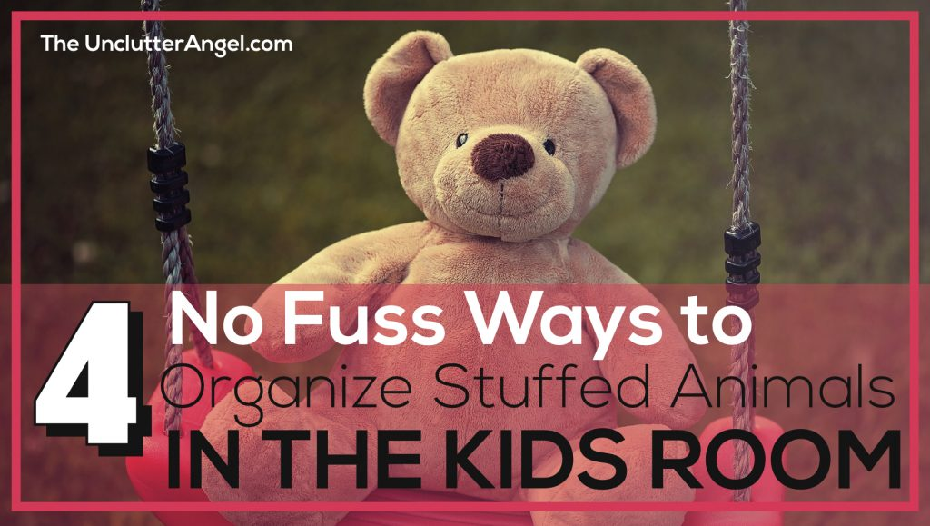 stuffed animal organization ideas kids rooms
