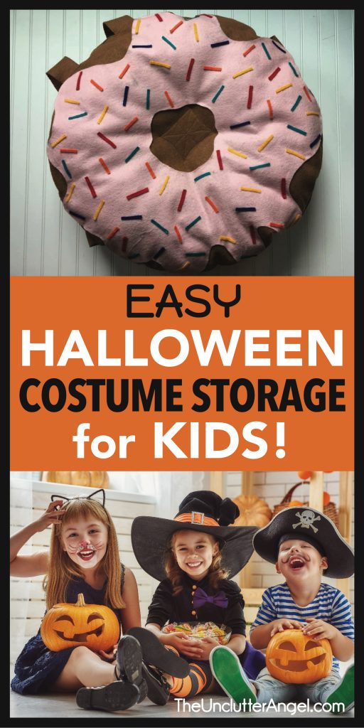 halloween costume storage for kids