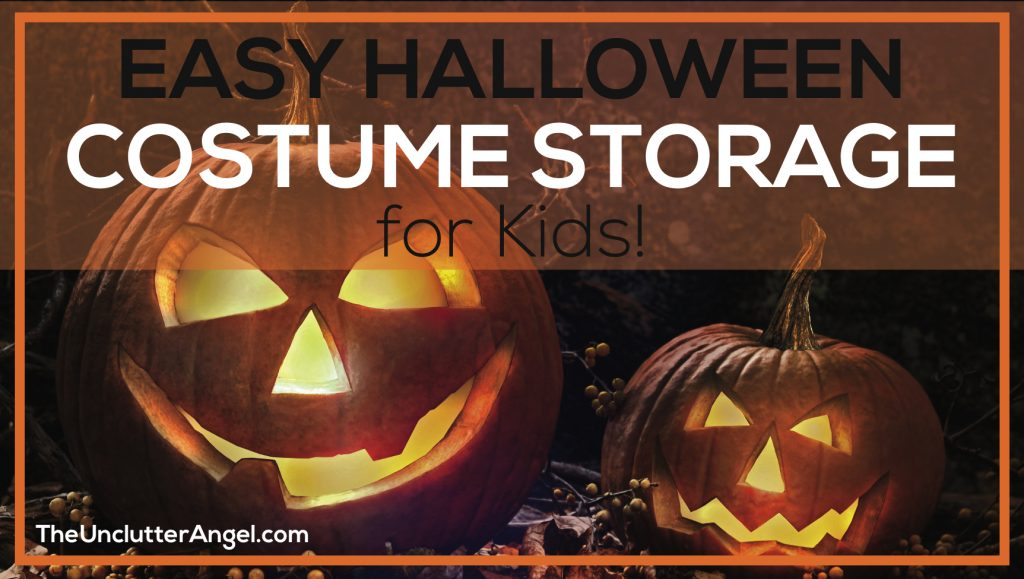 costume storage for kids