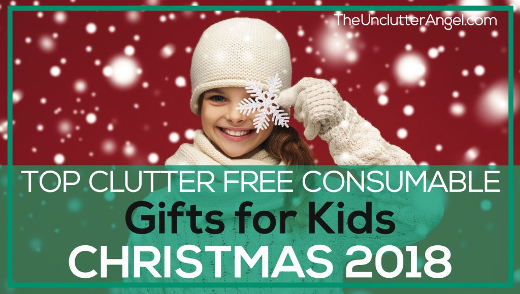 Top Clutter-Free Consumable Gifts for Kids: Christmas 2017