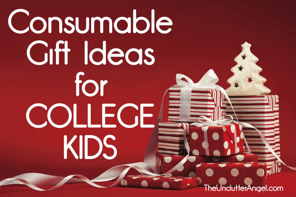 consumable gifts for college kids