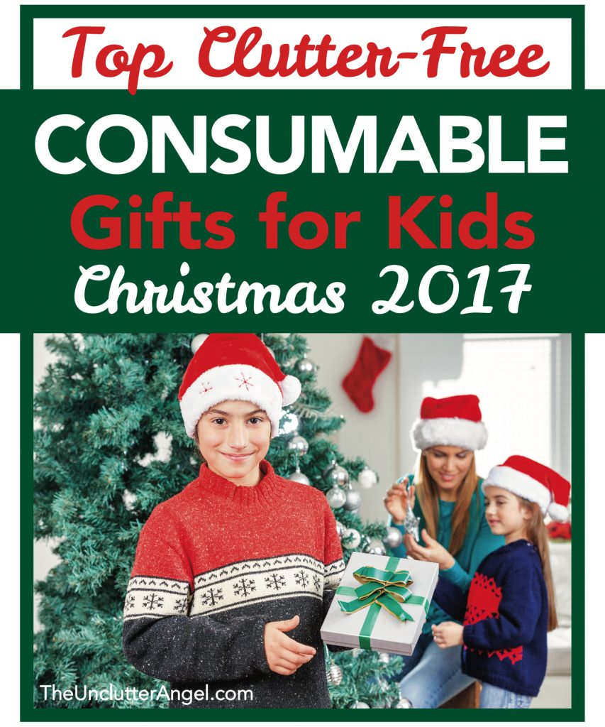 consumable gifts kids