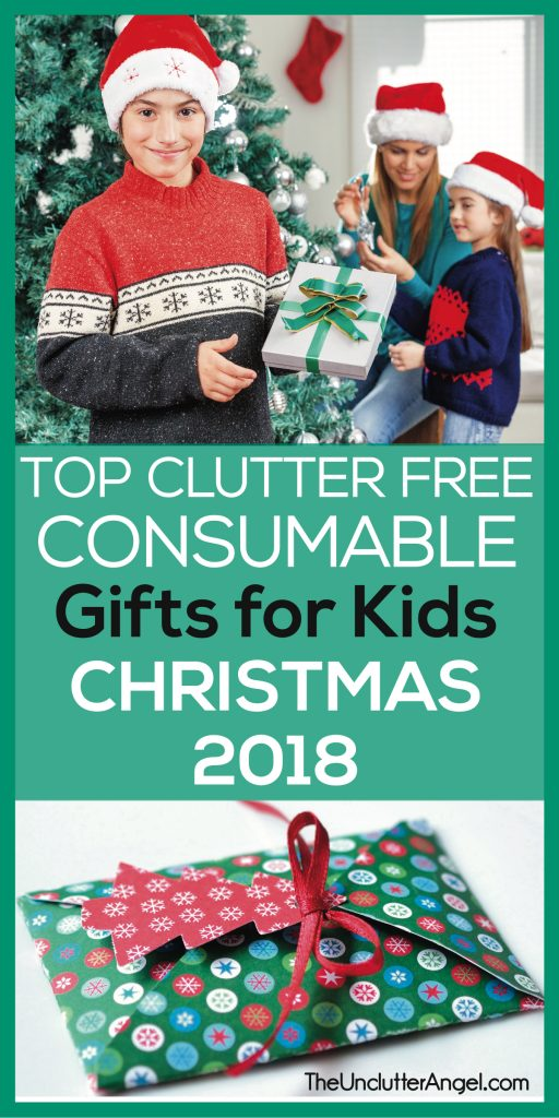 clutter free gifts for kids ideas
