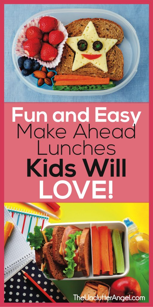 make ahead lunches for kids lunchbox ideas