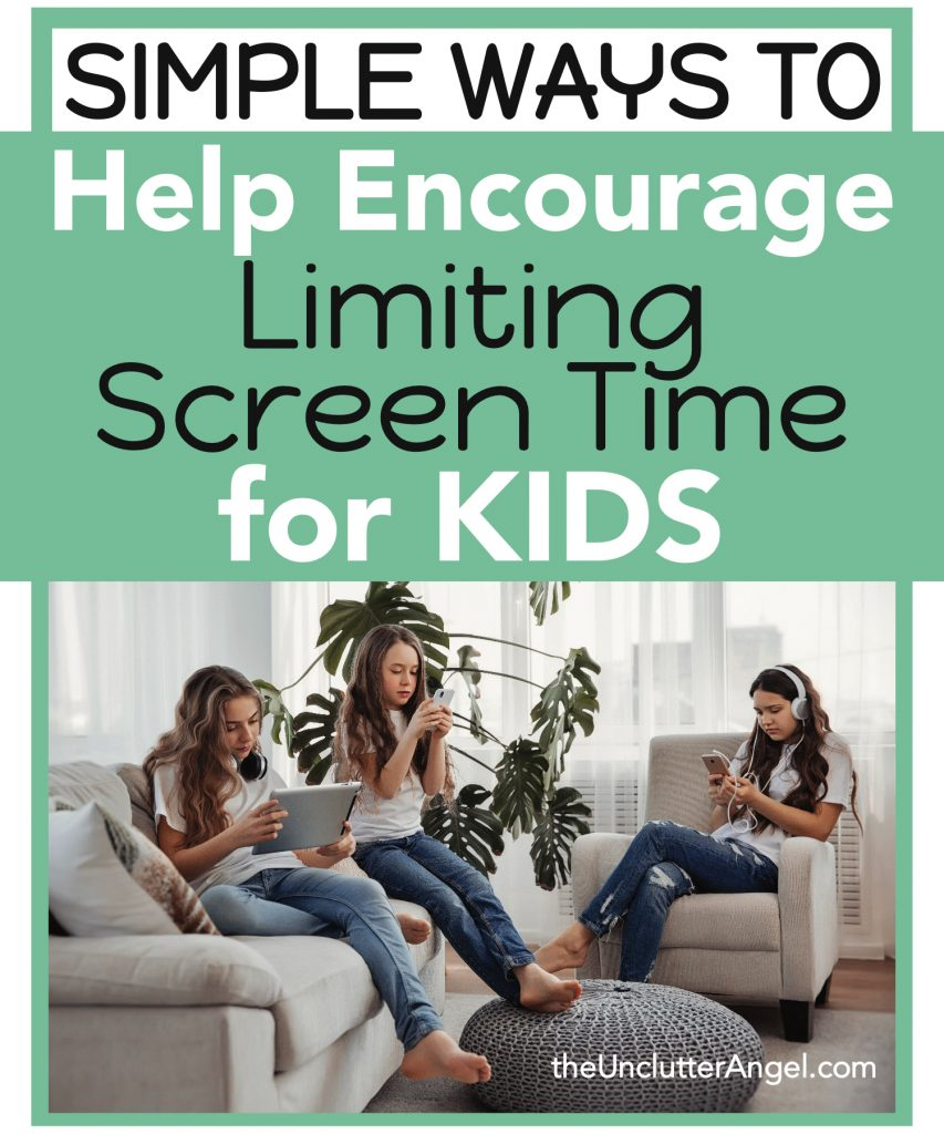 limiting screen time kids