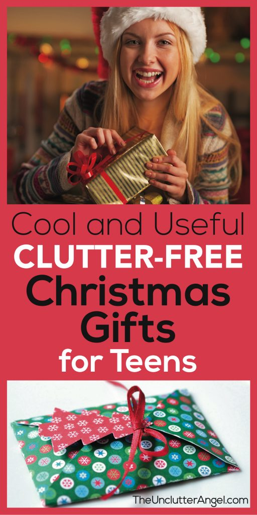 clutter free Christmas gifts teen