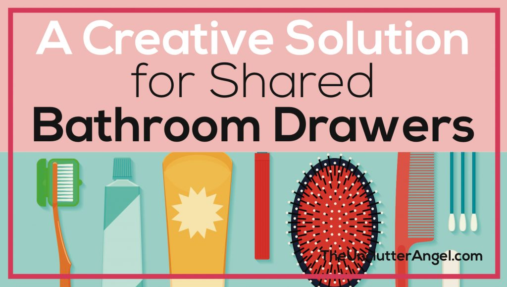 shared bathroom drawers