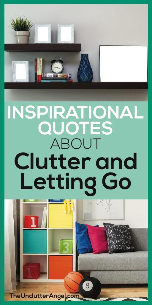 inspirational quotes about clutter