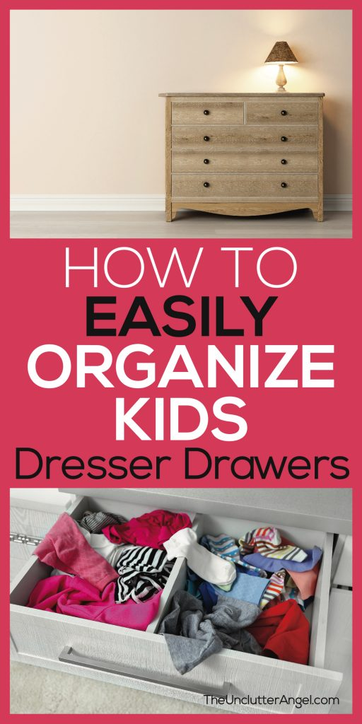 organize kids clothes drawers dressers