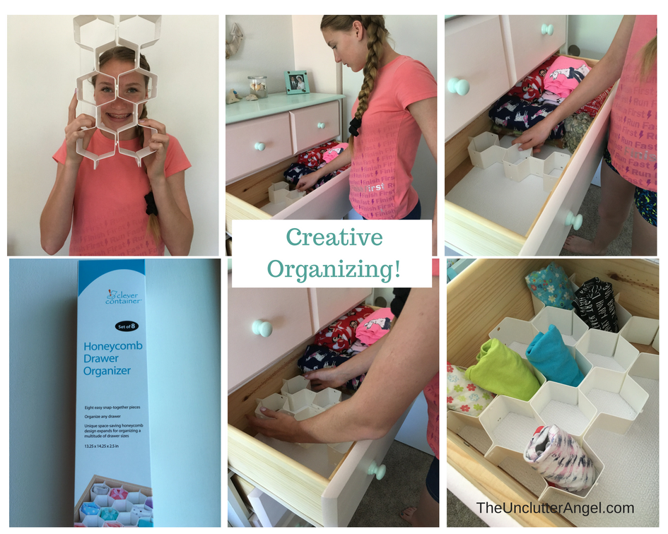 organize kids dresser drawers