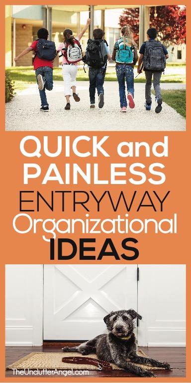 Entryway Organizational Ideas