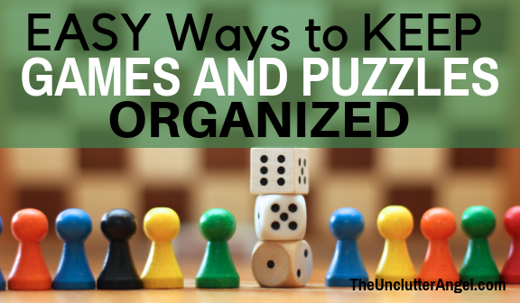 Organized games and puzzles
