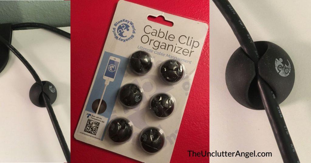 cable clip organize