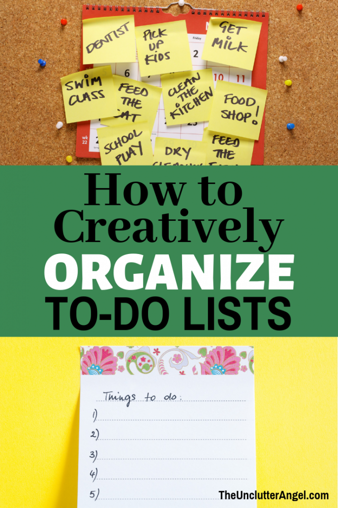 Organize To Do List