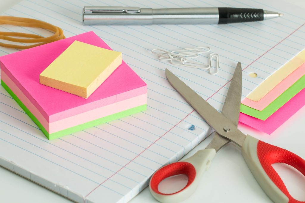 paper post it notes