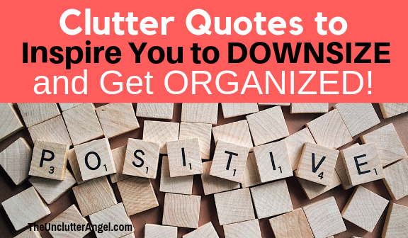 inspirational quotes about getting organized