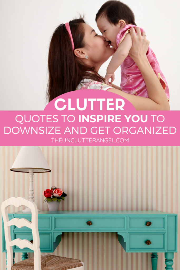 clutter quotes to inspire