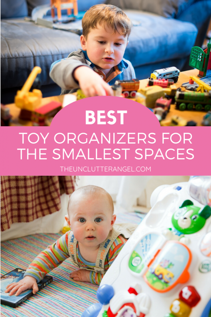 organize toys in small spaces
