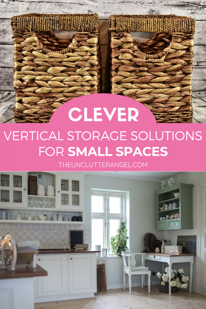 vertical storage for small spaces